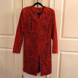 J.McLaughlin Zebra Print Coat